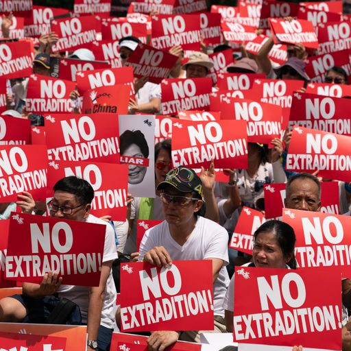 Why are there protests in Hong Kong?