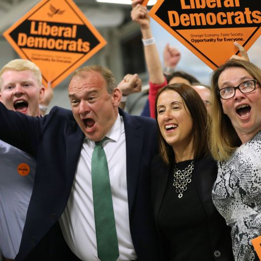 Lib Dems win by-election as PM suffers first defeat