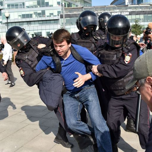 Moscow protests show Putin's draconian management of democracy