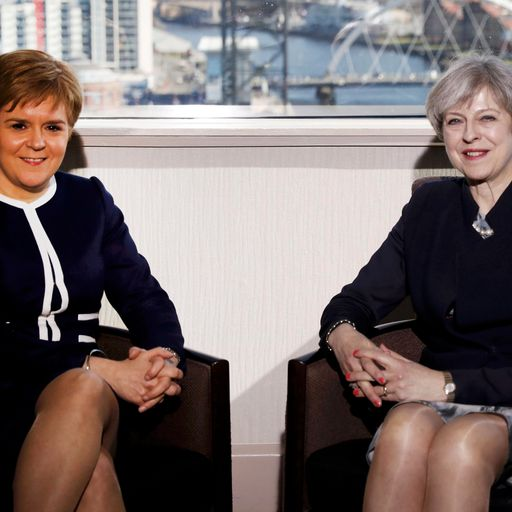 Nicola Sturgeon: 'Talking to Theresa May was soul destroying'