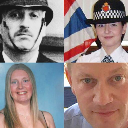 Killed in the line of duty: Officers who gave their lives protecting the public