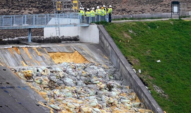 Whaley Bridge dam rebuild could cost 'hundreds of millions' of pounds