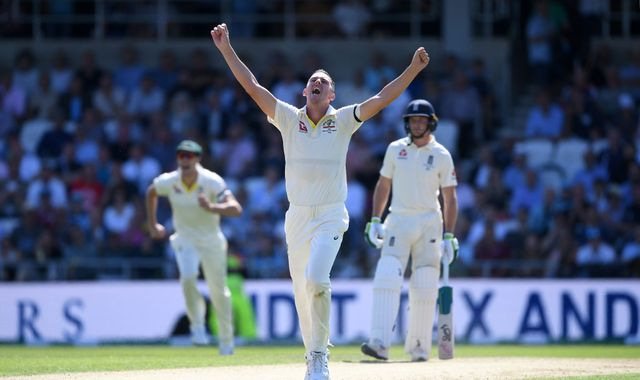 England collapse to 67 all-out in disastrous Ashes innings