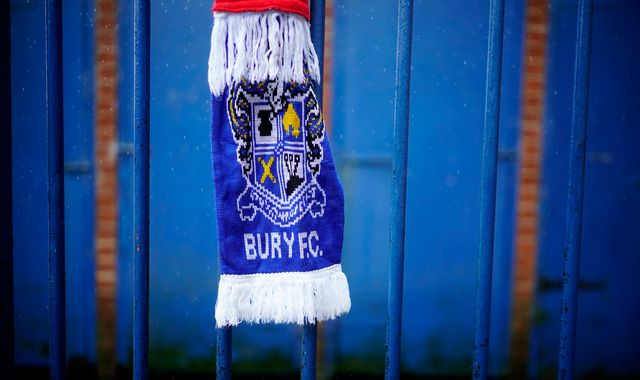 Bury FC owner Steve Dale rejects blame as debt-ridden club faces league expulsion