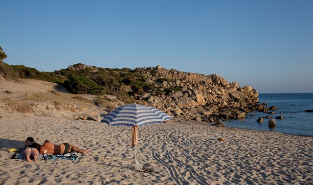 Sardinia: Tourists who took sand from beach face jail sentence