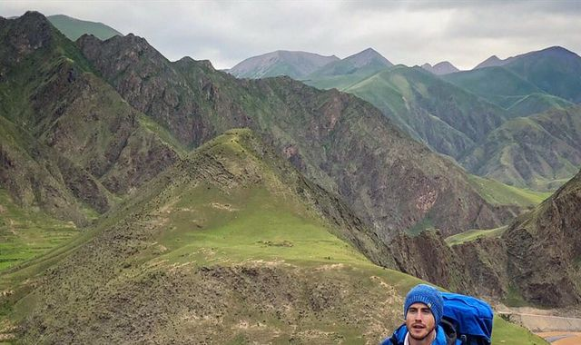 Welsh explorer Ash Dykes becomes 'first person to walk length of