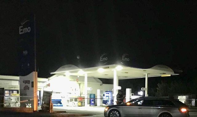 Man shot dead outside petrol station in County Down