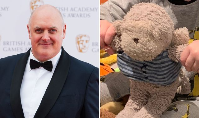 Dara O Briain's appeal to find son's lost teddy helps raise £25,000 for cancer charity