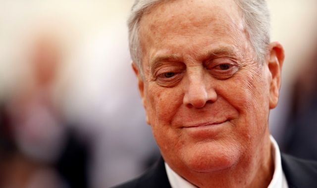 David Koch: Billionaire Republican donor dies after long battle with prostate cancer
