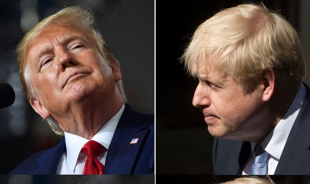 Boris Johnson to hold talks with Donald Trump at G7 summit