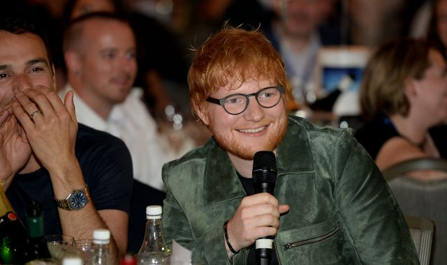 Ed Sheeran failed music college before catapulting to global stardom