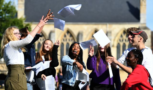GCSE results: Proportion of pupils getting top grades in 'tougher' subjects rises