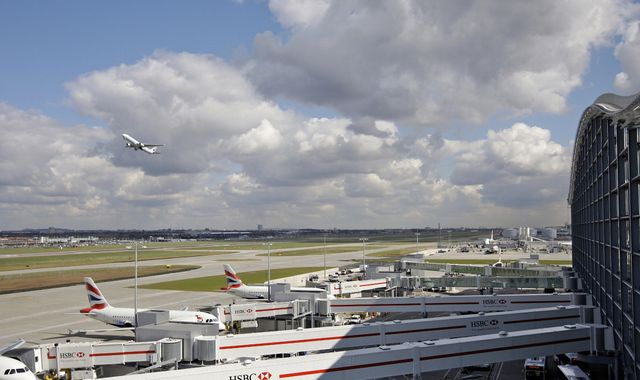 Heathrow Airport 'working to stay open' during drone protest