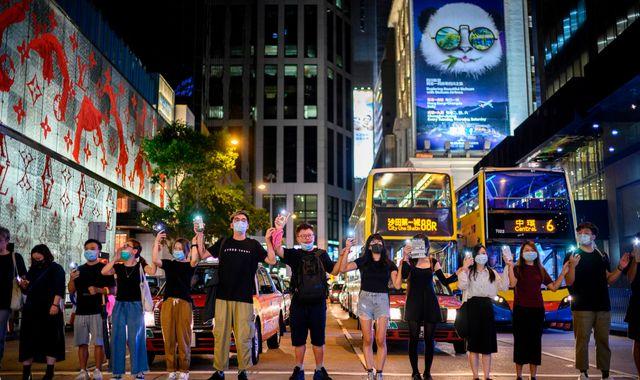 Hong Kong: Foreign Office warns travellers' phones could be checked at border