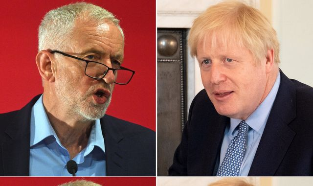 'Britain's Trump': Corbyn attacks Johnson as he makes election pitch