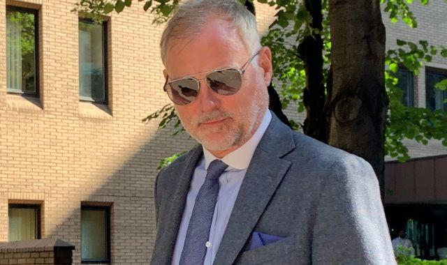 Former Blue Peter star John Leslie denies sexual assault