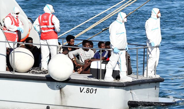Italy's Salvini agrees to let minors off stranded migrant boat after PM demands action