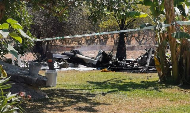 Holidaymakers among 7 dead as helicopter and small plane collide in Majorca