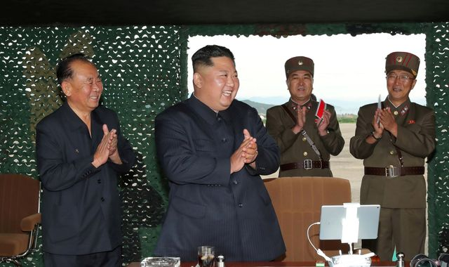 North Korea completes 'crucial test' at long-range rocket site