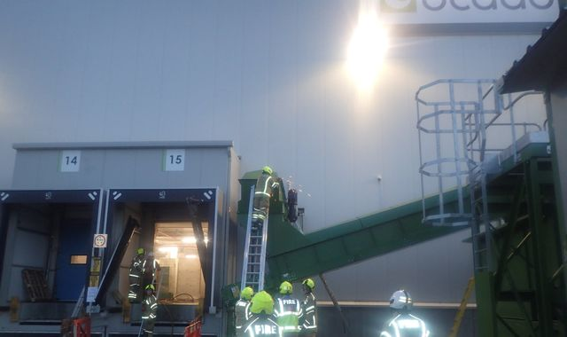 Disruption for Ocado customers as it suffers second fire this year