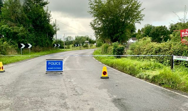 Bomb which was 'intended to murder police' explodes in Co Fermanagh