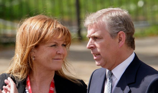Epstein questions await Prince Andrew at home as he holidays with Sarah Ferguson in Spain