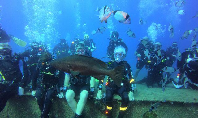 96-year-old Second World War veteran 'breaks Scuba diving record'