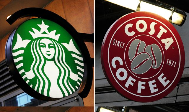 Costa and Starbucks among coffee chains urged to drop plant milk surcharge
