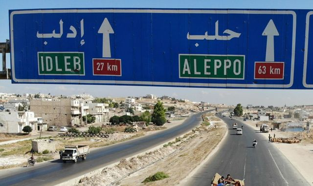 Syria opens 'humanitarian corridor' for civilians to flee last rebel stronghold