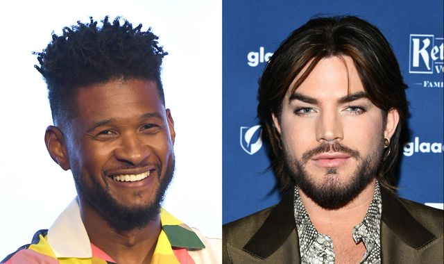 Usher and Adam Lambert among celebrities 'burgled in $500,000 scam' in LA