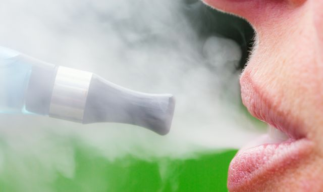 Vaping-related death in the US amid 'alarming' rise in serious illnesses
