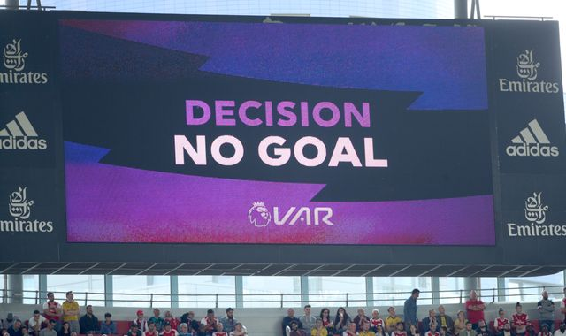 Video assistant referee boss tells football fans: 'Just live with it'
