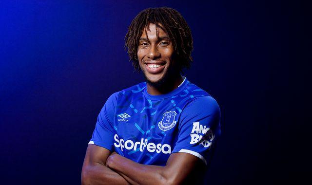 Alex Iwobi: I left Arsenal for Everton to make a name for myself