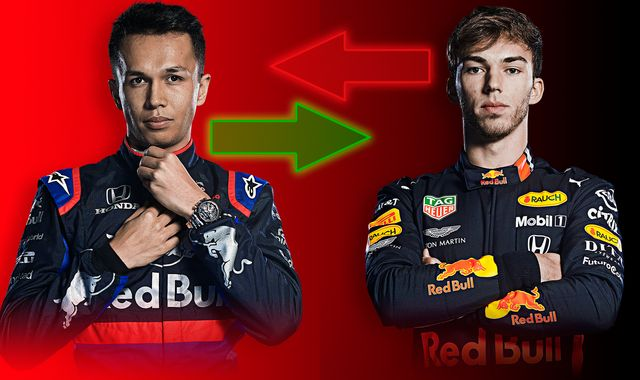 The Alex Albon-Pierre Gasly Red Bull seat swap: What it all means