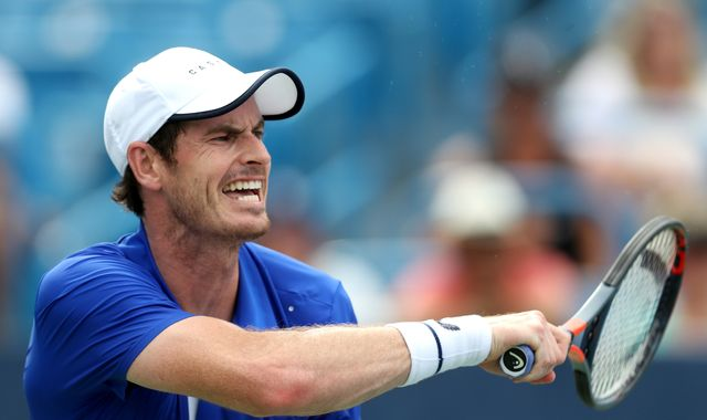 Andy Murray loses to Tennys Sandgren in Winston-Salem first round