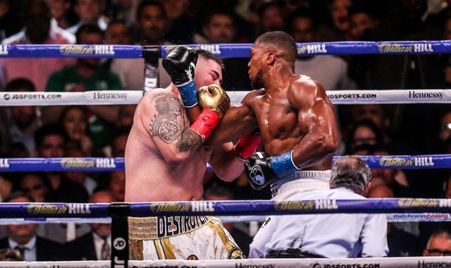 Ruiz Jr vs Joshua 2: Andy Ruiz Jr insists Anthony Joshua hit him with 'lucky punch' and denies he was close to defeat