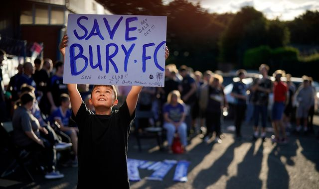 Bury given two-week reprieve as winding-up order adjourned