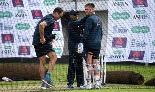 Ashes 2019: Jason Roy struck on helmet during England practice ahead of third Test