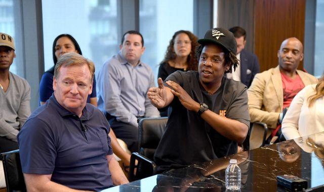 Jay-Z still backs protests and kneeling after agreeing NFL partnership