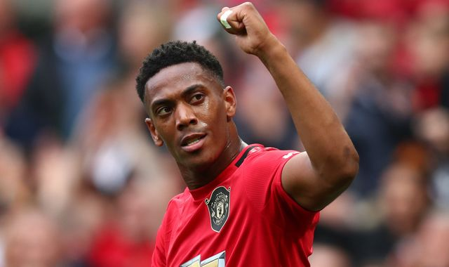 Anthony Martial: Manchester United forward in line for return against Liverpool