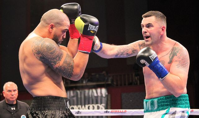 Ireland's Niall Kennedy continues unbeaten career against former opponent of Andy Ruiz Jr