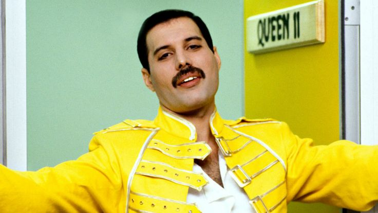 Queen's Freddie Mercury, 1986. Pic: Denis O'Regan