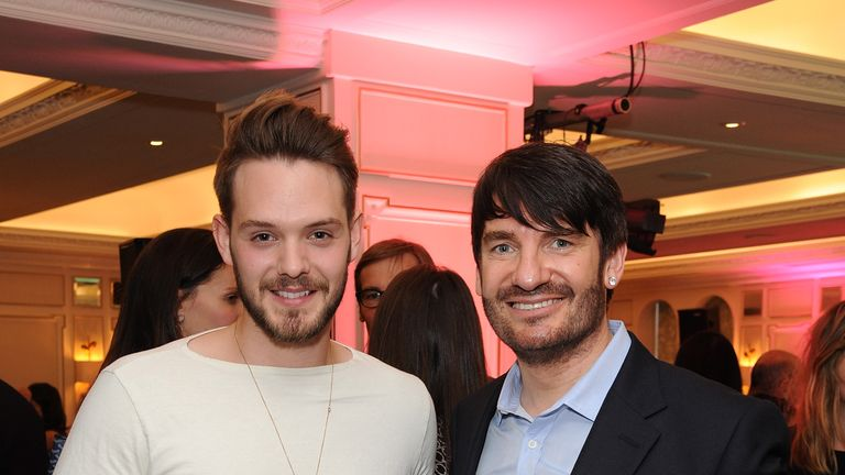 LONDON, ENGLAND - MAY 21:  John Whaite and Eric Lanlard (R) attend the third annual Fortnum & Mason Food & Drink Awards 2015 on May 21, 2015 in London, England. The awards celebrate the best in writing, publishing and broadcasting on food and drink.  (Photo by David M. Benett/Getty Images for Fortnum & Mason)