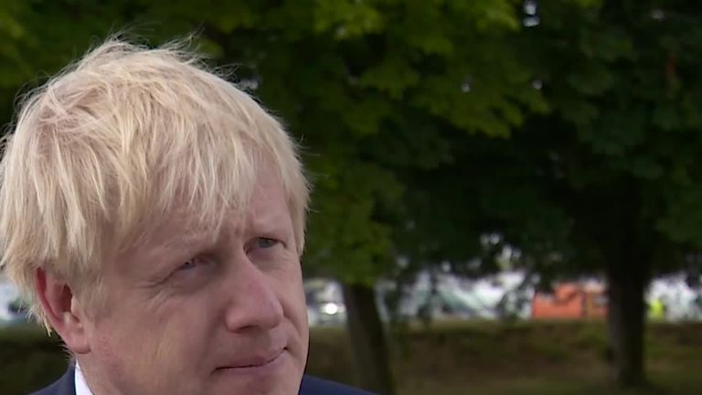 Prime minister Boris Johnson said the recent Leyton attack shows police need 'power and confidence' to conduct stop and search.