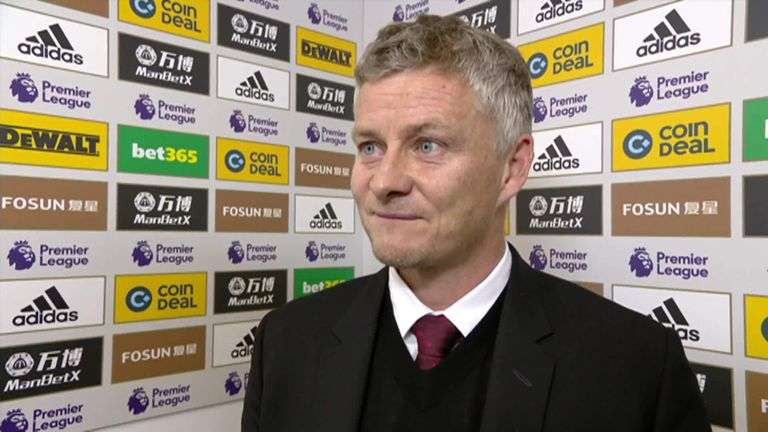 Ole Gunnar Solskjaer explained the penalty confusion after the game