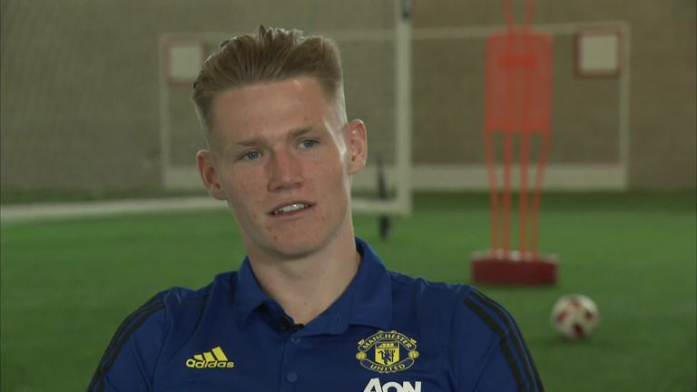 Watch McTominay recall his favourite United memories