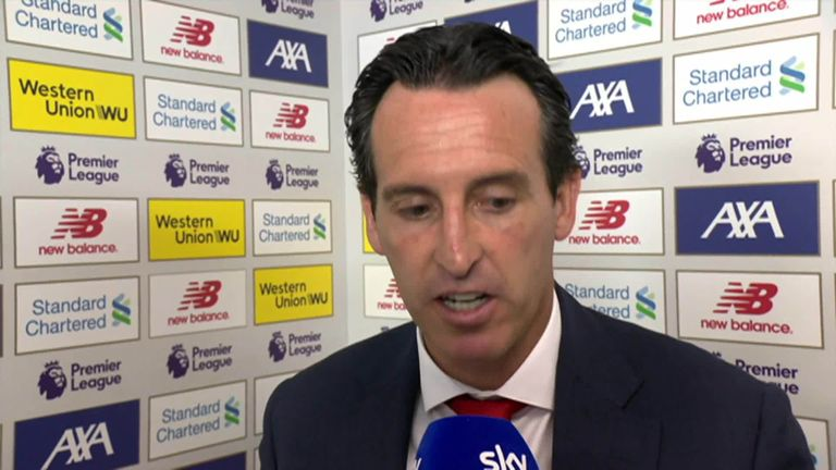 Unai Emery remains upbeat after some positive individual performances