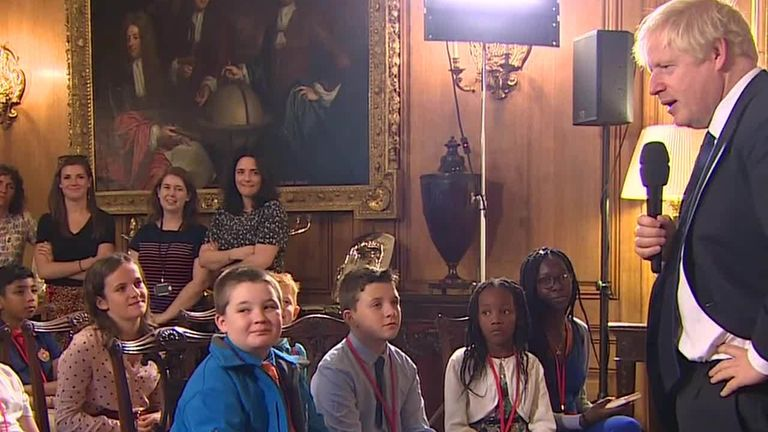 Children have been invited to ask Boris Johnson questions about his new job as PM and what he is doing for their generation.