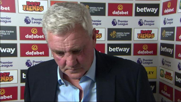 Newcastle boss Steve Bruce felt his side