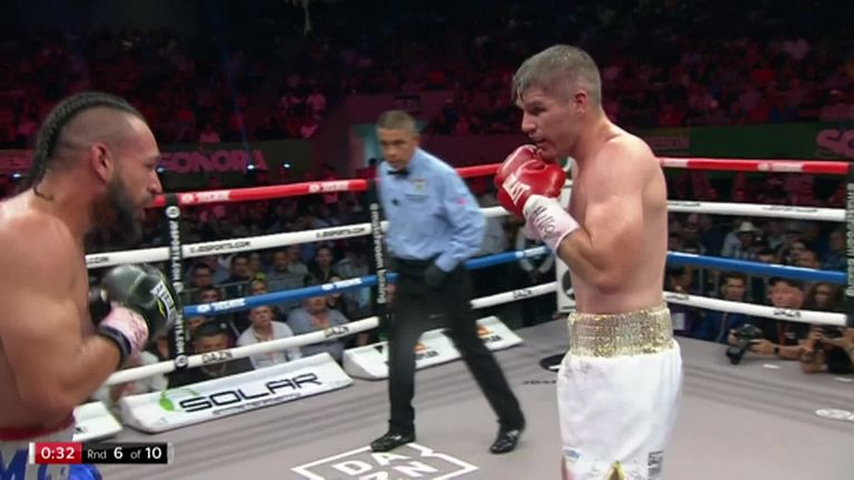 Estrada vs Beamon: Liam Smith secures TKO win to stay on track | Boxing News |